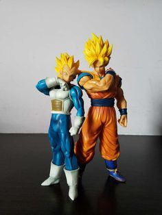 Anime Figure 18-22 CM Dragon Ball Z Resolution Of Soldier Son Goku Vegeta  PVC Action Figure Toy Model Collectibles //Price: $US $13.59 & FREE Shipping //     #toys
