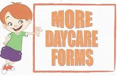 Home Daycare Forms