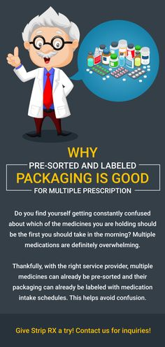 Why Pre-Sorted and Labeled Packaging Is Good for Multiple Prescriptions. Visit www.striprx.com. #Prescriptions #StripRX Pharmacy, Finding Yourself, Medicine, Packaging, Good Things, Education, Apothecary, Soul Searching, Teaching
