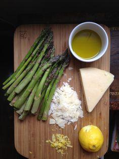 Asparagus and parmesan salad