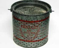 old minnow bucket. My Dad's looked just like this!