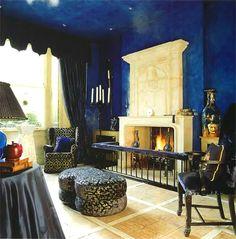 gothic home decor | gothic france style fireplace room decor - Zeospot.com : Zeospot.com
