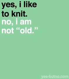 Make & Cake: Knitting Funnies for a jolly good laugh.