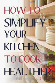 Simple cooking tips for the kitchen to eat healthier and live healthier. Simple living tips. How to live more simply. How to simplify your home and simplify your life. Homestead cooking. Timeless tips for simple living. Amish cooking Amish baking. Pantry Staples. Kitchen staples for cooking. Baking staples for the pantry. #simpleeating #simplecooking #simpleliving #amishcooking Best Amish Recipes, Organic Cooking, Money Saving Meals, How To Eat Better, Frugal Living Tips, Diy Décoration, Menu Planning, Decluttering