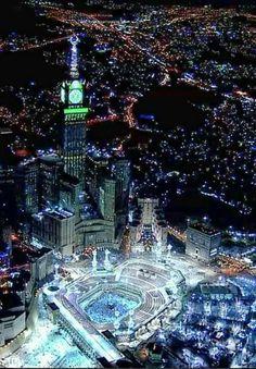 Masha Allah. . The most wonderful  place  on Earth  # Mecca