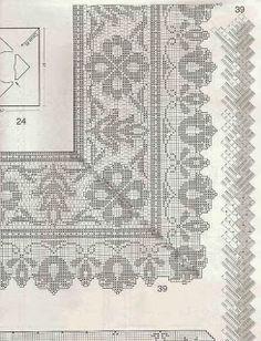 CROCHE ARTE MANUAIS: REVISTA DE CROCHE FILET AU CROCHET