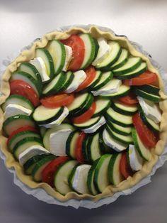 La Cuisine c'est simple: Simple avec une délicieuse tarte aux légumes