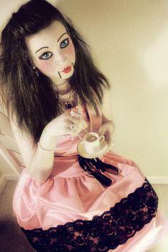 halloween doll makeup - Google Search