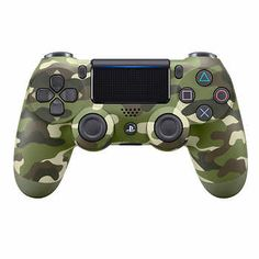 Gregg: DualShock®4 Wireless Controller - Green Camo