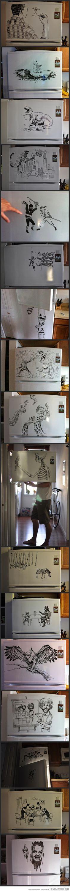 Freezer Art…awesome!