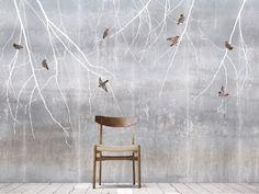 Scandinavian Surface wallpaper Bohemian Birds