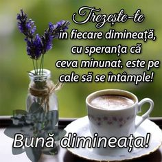 Good Morning Coffee, Good Morning Flowers, Tableware, Funny, Frases, Wish, Thinking About You, Dinnerware, Tablewares
