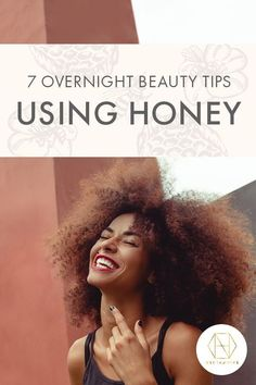 Who doesn't like the idea of beauty treatments that work whilst you're sleeping. Sounds like the best of both worlds, doesn't it. All Necta Beauty Tips Using Honey, Australian Honey, Wound Dressing, How To Lighten Hair, Acne Breakout, Alpha Hydroxy Acid, Dry Lips, New Skin, Skin Problems