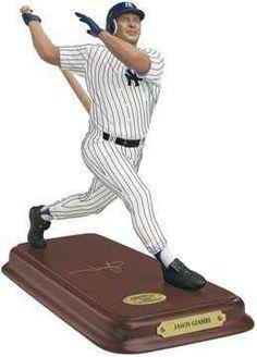 Jason Giambi Danbury Mint, New York Yankees, Mlb, Action Figures, Baseball, Things To Sell, Sports, Hs Sports, Sport