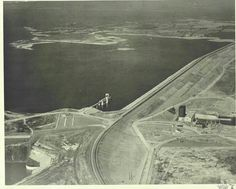 German prisoners of war were used to help build the Denison Dam that helped form Lake Texoma. Sherman Texas, Texas Signs, Lake Texoma, Texas And Oklahoma, Houston Street, Army Corps Of Engineers, Texas History, Prisoners Of War