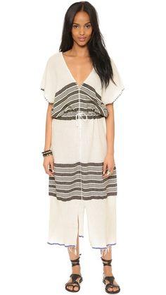 Overpriced, but for a good cause. Lemlem Safara Patio Cover Up Dress