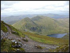 An Stuc from Ben Lawers Glen Lyon, Scottish Mountains, Climbing, Woods, Windows, Travel, Scotland, Viajes, Rock Climbing