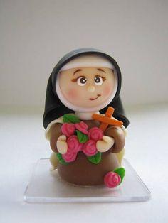 *COLD PORCELAIN ~ Santa Teresinha do Menino Jesus: