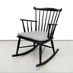 Located Using Retrostart.com U003e Rocking Chair By Børge Mogensen For FDB  Møbler