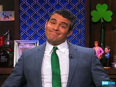 ANDY COHEN. He is hilar and his WWHL is a campy little guilty pleasure.