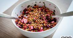 Leckerer Rote Beete Salat mit Kichererbsen ✓gesundes Rezept ☆ Hier nachkochen!