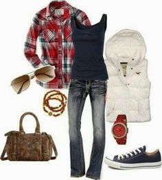 Comfy casual mode outfits, outfits outfits for teens, vest outfit Mode Outfits, Outfits For Teens, Casual Outfits, Fashion Outfits, Womens Fashion, Outfits 2016, Fashion Trends, School Outfits, Teen Fashion