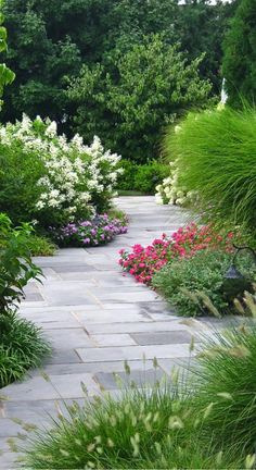 serpentine bluestone path