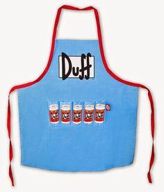 Delantal Simpsons Cerveza Duff | Delantales Blog