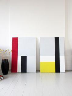 Architect who loves to paint and hates bullshit. Mini Canvas Art, Canvas Wall Art, Geometric Shapes Art, Mondrian Art, Tapis Design, Acrylic Pouring Art, Minimalist Painting, Concrete Art, Shape Art