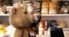 Animado Osito Ted.