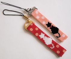Bead Loom Bracelets, Beaded Bracelet Patterns, Bead Loom Patterns, Peyote Patterns, Beading Patterns, Peyote Beading, Beaded Animals, Tear, Beads And Wire