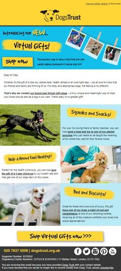 Dogs Trust: Send a thoughtful gift that counts