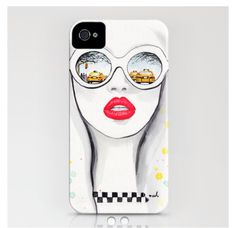Winter in NYC  society6.com Iphone 4/4s case