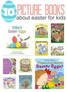 10 Easter picture books perfect for preschoolers & tots | No Time for Flashcards