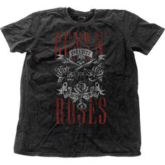 Guns N' Roses Men's Fashion Tee: Appetite for Destruction Wholesale Ref:GNRSWASH01MB