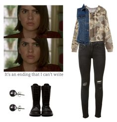 Designer Clothes, Shoes & Bags for Women Teen Wolf Fashion, Teen Wolf Outfits, Rebel Fashion, Hipster Fashion, Sporty Tomboy Outfits, Edgy Outfits, Cool Outfits, Malia Tate, Style Me