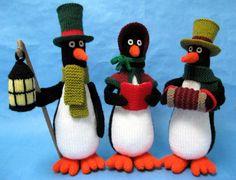 Carolling Penguins pattern from Alan Dart, £2.50