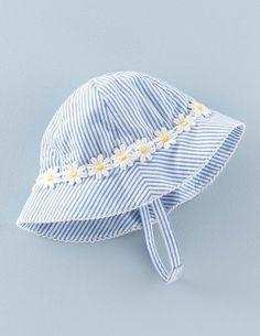 Gemusterter Hut für Mädchen