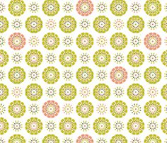 Celebrate Dim Sum fabric by inscribed_here on Spoonflower - custom fabric