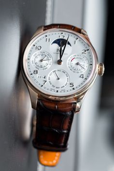 Hands On The IWC Portugieser Perpetual Calendar Reference 5033 Watch