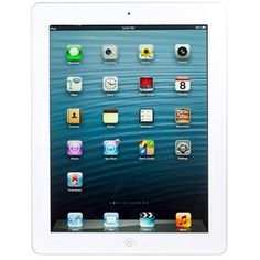 Apple iPad with Retina display Wi-Fi + Cellular 32GB - White 4th Generation (B Grade Reconditioned) - Refurbished Supply