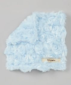 Take a look at this Luxe Blue Snail Plush Crinkleez Lovey by My Blankee on #zulily today!