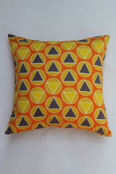Pillows Made From Vintage Fabric in Petworth, Washington ~ Apartment Therapy Classifieds