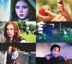 The first face this face saw. And you were seared onto my hearts, Amelia Pond. You always will .