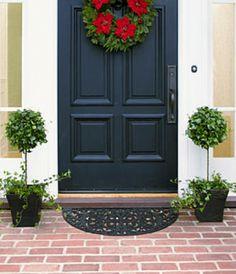 Wreath & topiary combo.