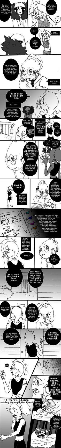 Anamnesis Part 3 - Pg 16-20 by GolzyBlazey on DeviantArt
