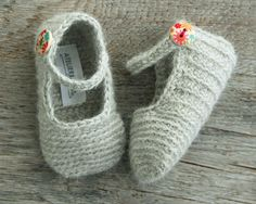 LILY Gray Baby Girl Shoes