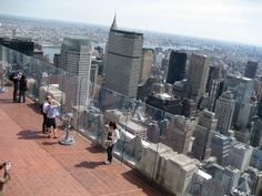 """""""Top of the Rock"""" - Rockefeller Center viewing deck - NYC, NY"""