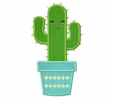 Happy-Cactus-Applique-5x7-Inch