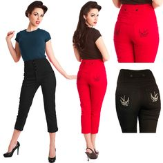 Steady Clothing Swallow Capri Pants